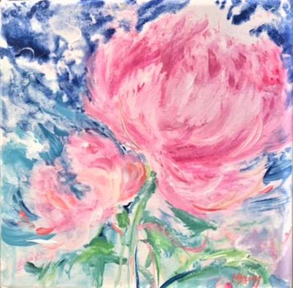 Peony Pizzazz 3 by Margaret Bragg
