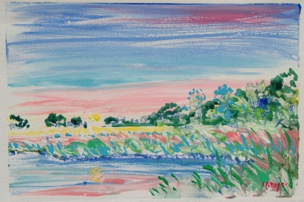 Pink Skies by Margaret Bragg