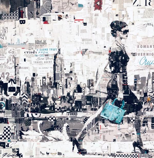NYC Strut with Swans by Derek Gores