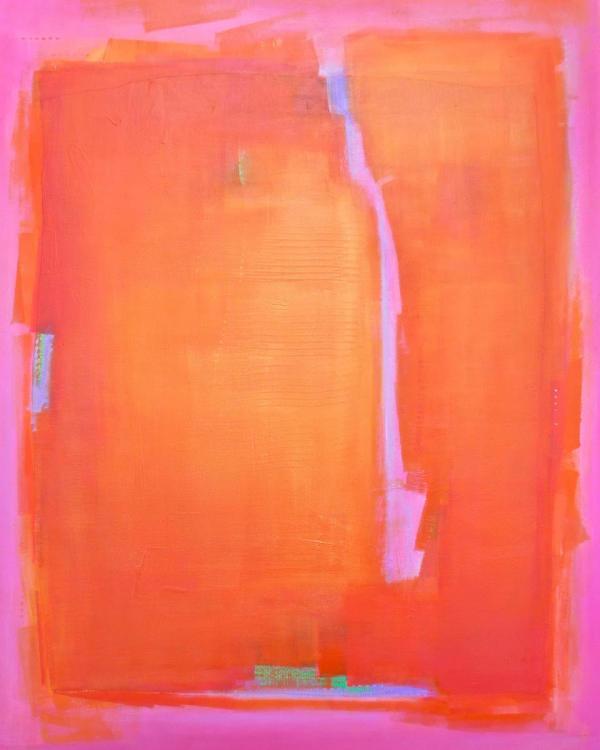 Transcendent Tangerine by Katherine Evans
