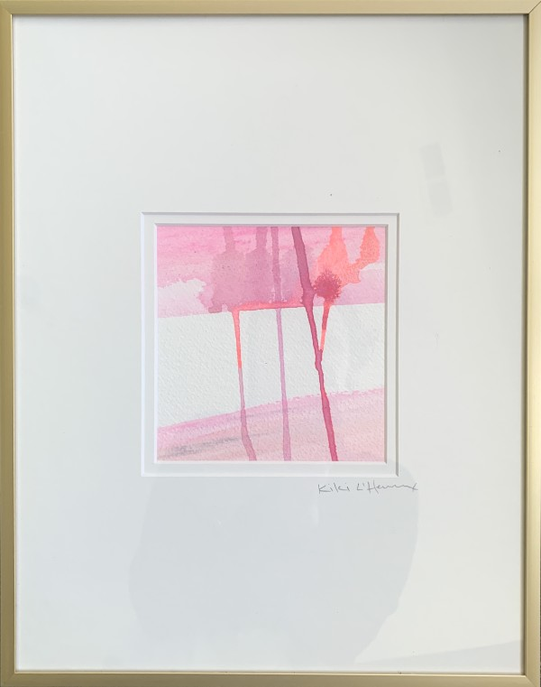 Flamingo Legs III by Katie Ré Scheidt