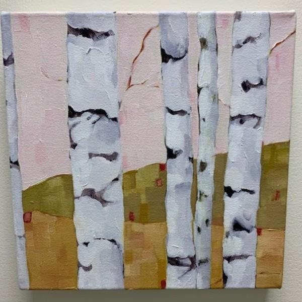 Birch Studies, Pink