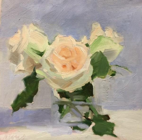 Garden Roses by Monique Lazard