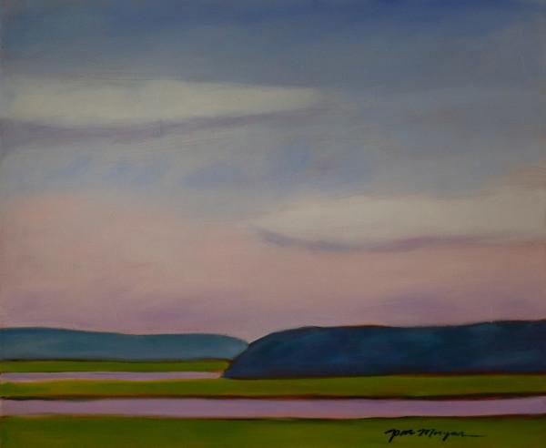 Jones River Marsh by Paula Morgan