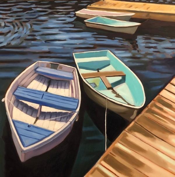 Annisquam Blues by Paula Morgan