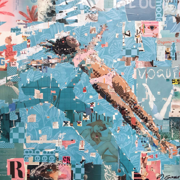 Sea of Tranquility, Pink by Derek Gores