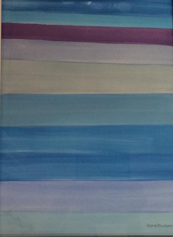 Sur La Plage - Blue - Purple Series by Melissa Steinhauser