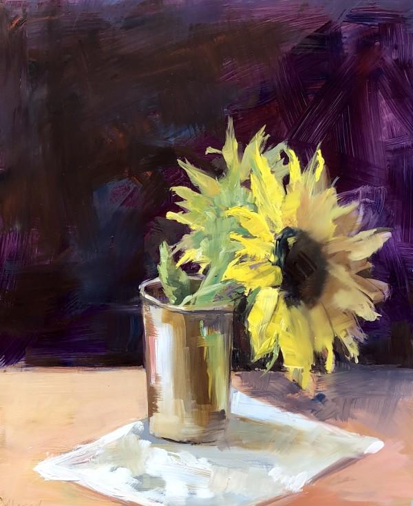 Sunflower by Monique Lazard