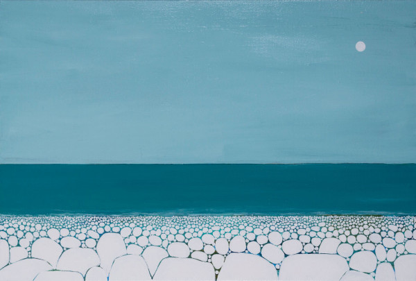 Pebble Beach No. 117 by Karen Tusinski