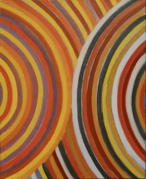 Study for homage to Sonia and Robert Delaunay # 1 by Victor Proulx