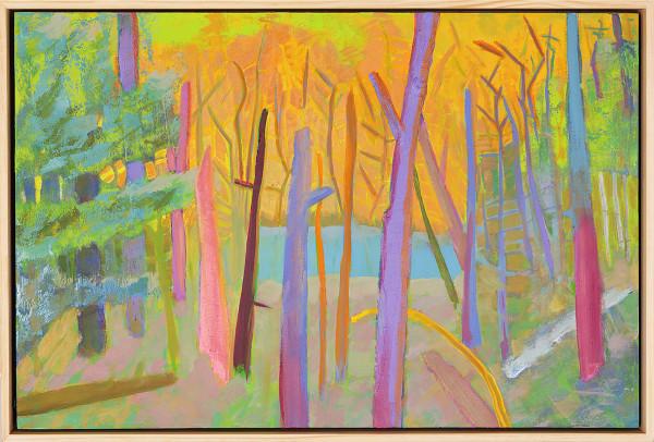 """Pond Edge"" by Steven McHugh"