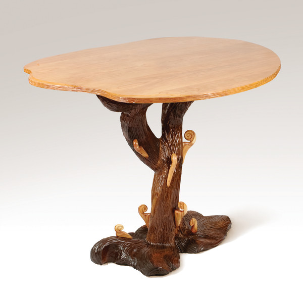 Osteria Papavero Forest Table by aaron d laux