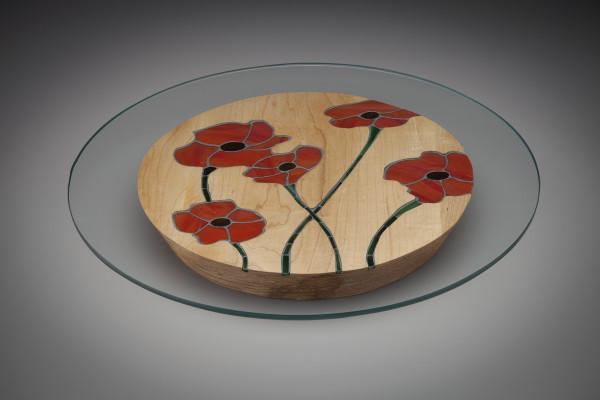 Poppy Centerpiece by aaron d laux