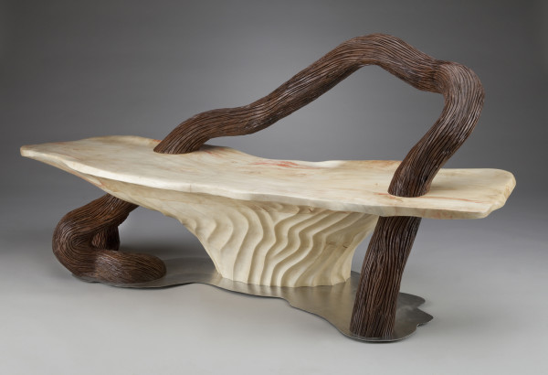 Serpentine Bench by aaron d laux