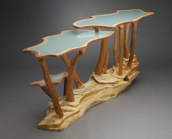 Squash Blossom Table by aaron d laux