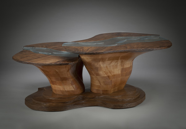 River Coffee Table by aaron d laux