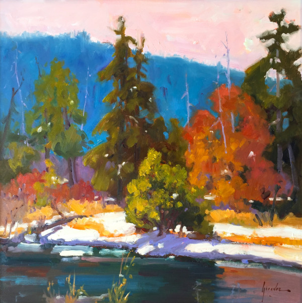 """""""Sunriver Color Dance"""" by Susan F Greaves"""