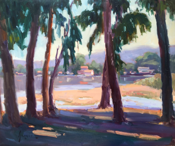 """""""View From Sweet Creek Park"""" by Susan F Greaves"""