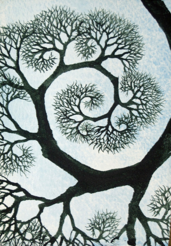 Spiral, 1 of 33 by Helen R Klebesadel