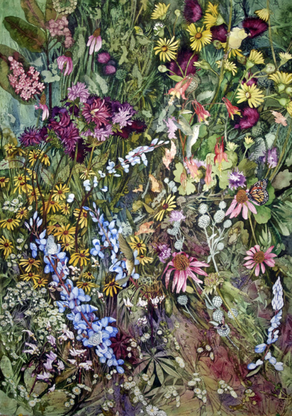 Prairie I by Helen R Klebesadel