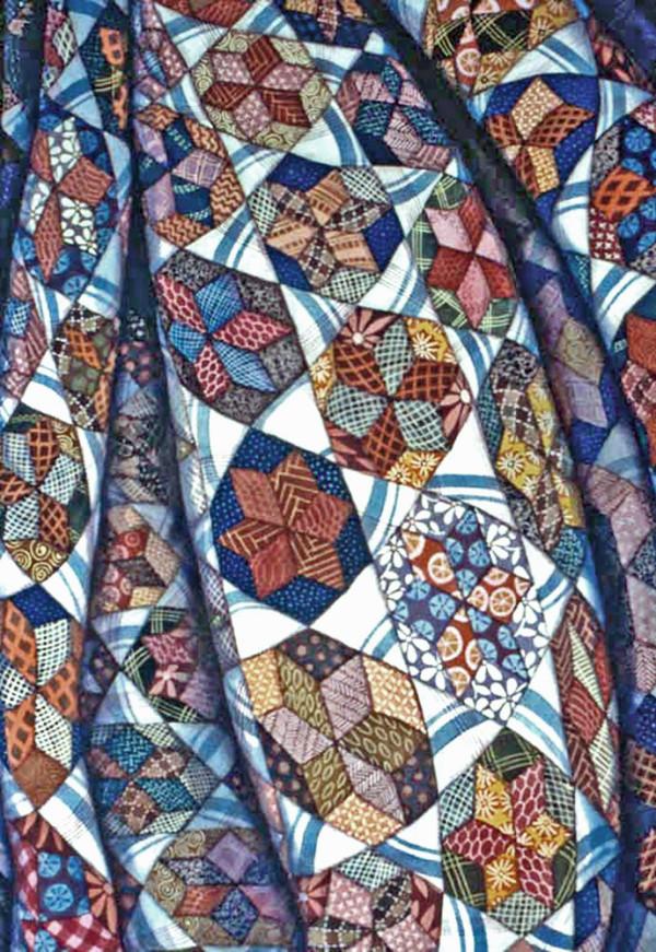 Orientation Quilt by Helen R Klebesadel