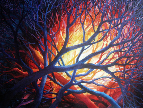Bonfire by Helen R Klebesadel