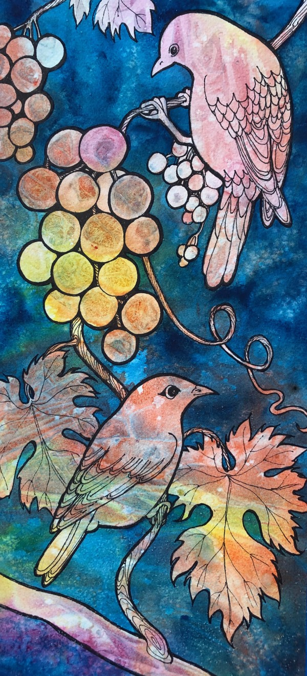 Pretty Birds by Helen R Klebesadel