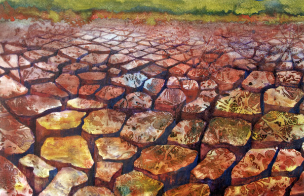 Earth Element:  Drought Study I by Helen R Klebesadel
