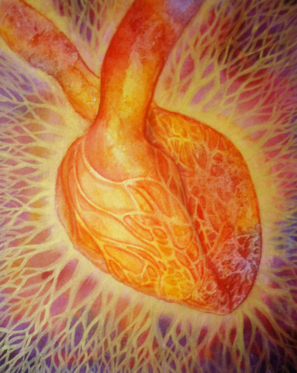 Golden Heart by Helen R Klebesadel