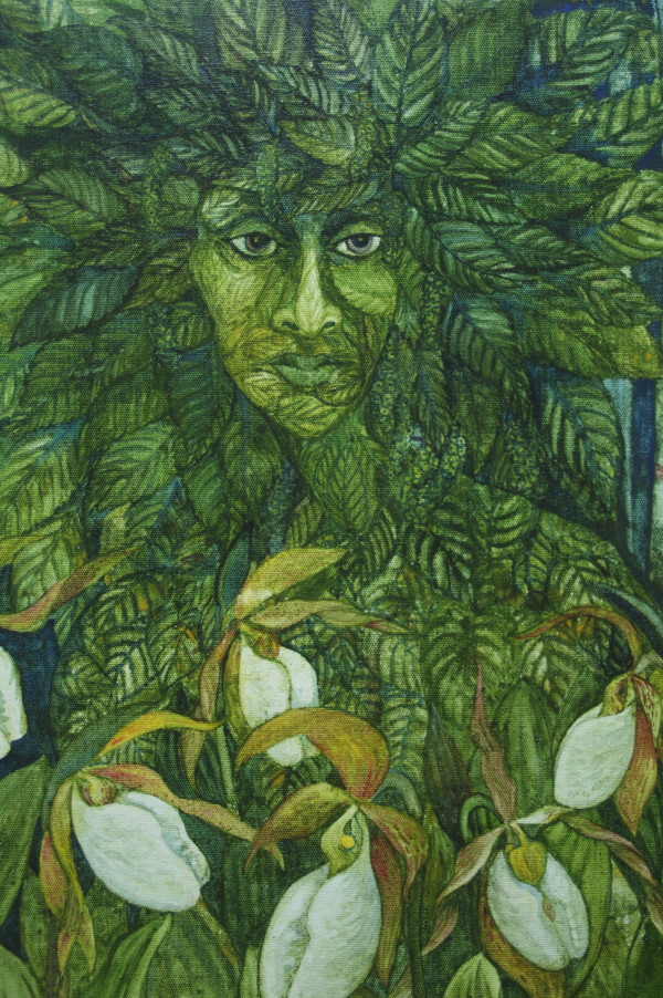 Green Woman by Helen R Klebesadel