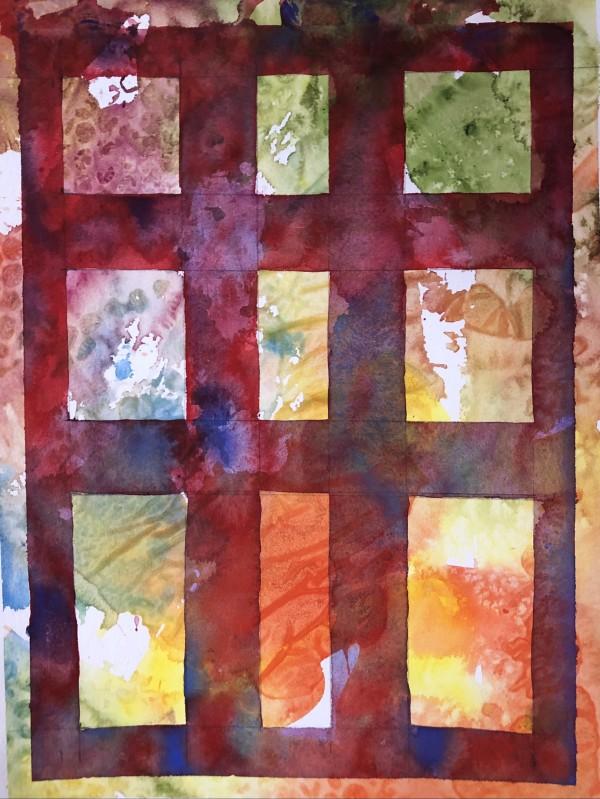 Grid I by Helen R Klebesadel