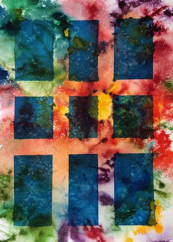 Grid II by Helen R Klebesadel