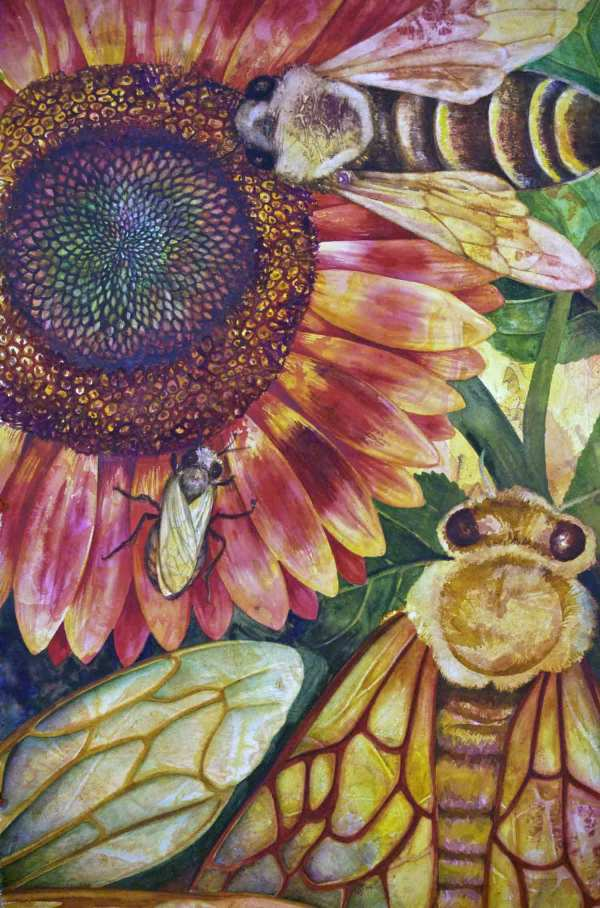 Where Are the Bees? II by Helen R Klebesadel