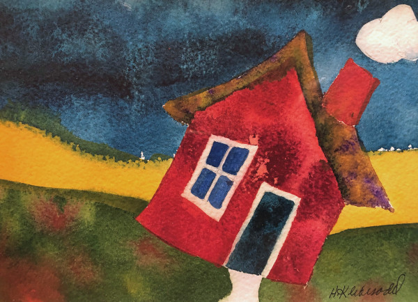 Happy House II by Helen R Klebesadel