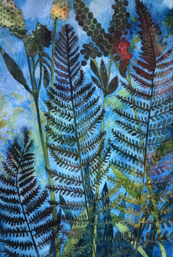 Ferns II by Helen R Klebesadel