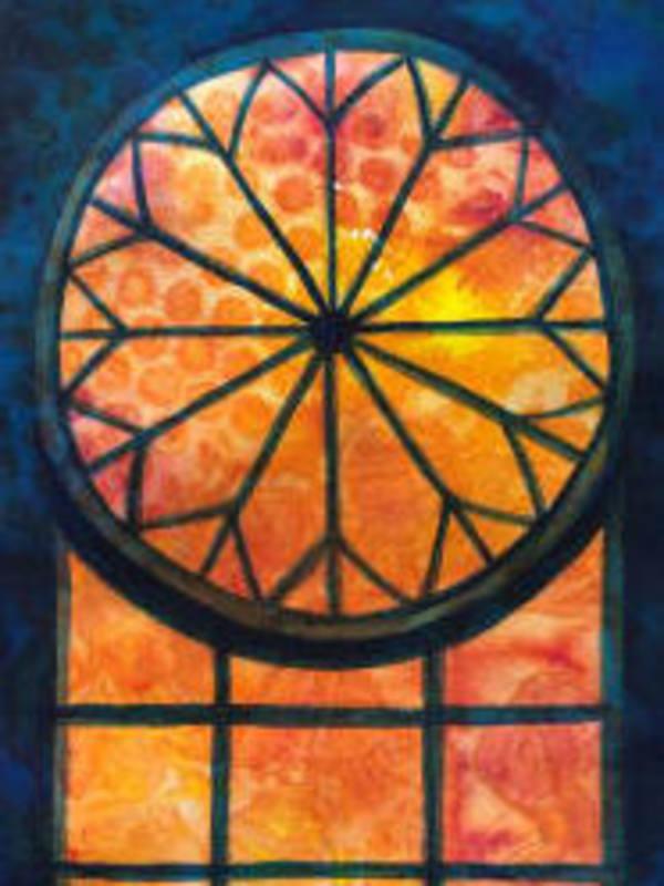 Rose Window by Helen R Klebesadel