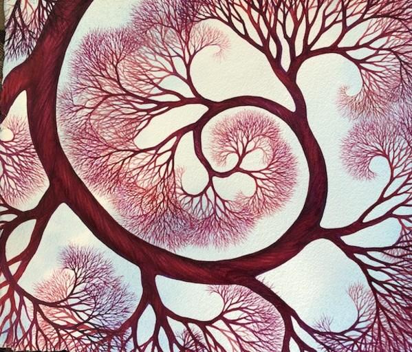 Spiral forJ & R II by Helen R Klebesadel