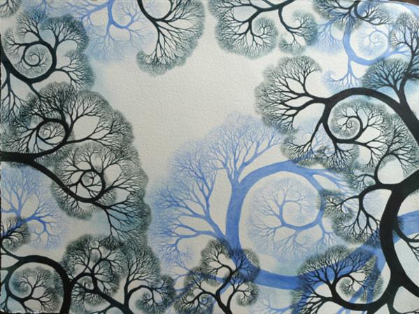Julie's WinterLace by Helen Klebesadel