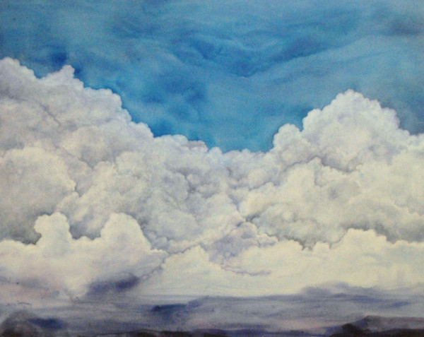 Clouds Canvas II by Helen Klebesadel