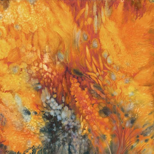 Prairie Fire:  Spring Restoration II by Helen R Klebesadel