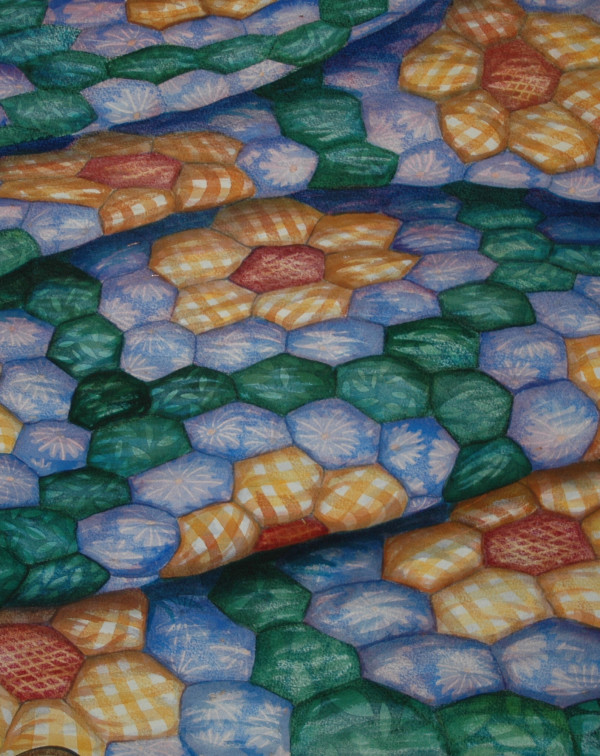Quilters Hex I by Helen R Klebesadel