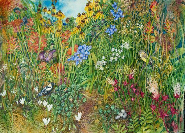 Prairie IV by Helen R Klebesadel