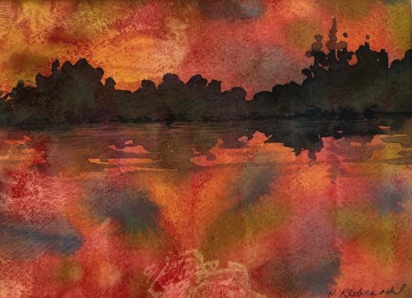 Red Lake Study I by Helen R Klebesadel