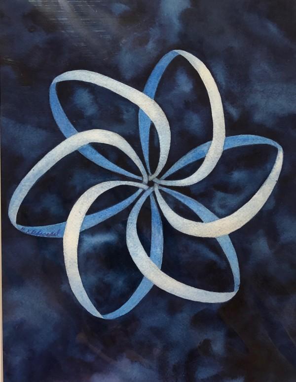 Ribbon Mandala by Helen R Klebesadel