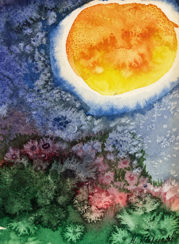 Salt Sun Study by Helen R Klebesadel