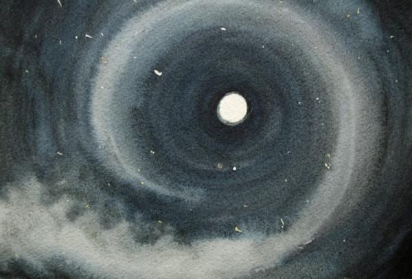 Spiral Moon by Helen R Klebesadel