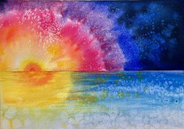 Sunrise by Helen R Klebesadel
