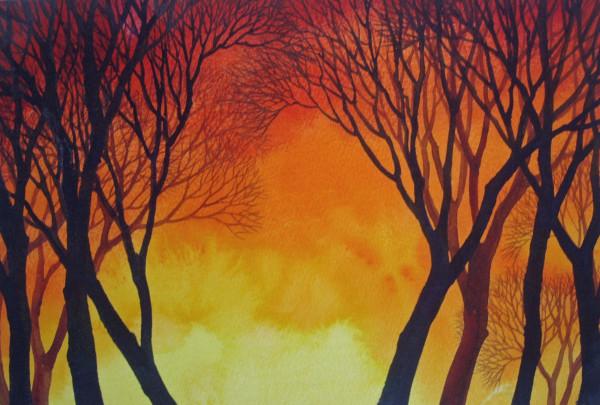 Sunset Lace II by Helen R Klebesadel