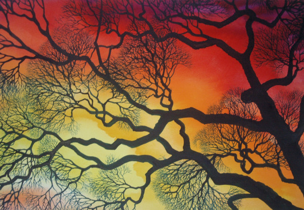 Sunset Lace VIII by Helen R Klebesadel
