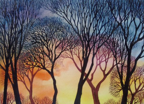 Sunset Lace IX by Helen R Klebesadel